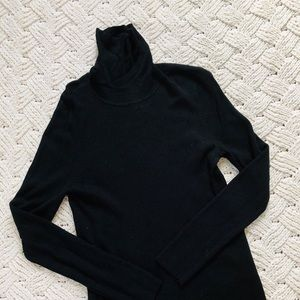 The Limited classic black turtleneck